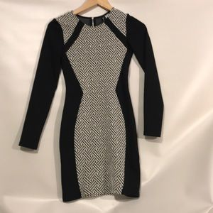 Fitted dress long sleeve
